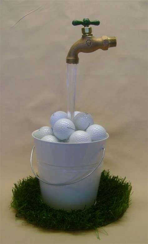 golf themed water fountain  storenvy