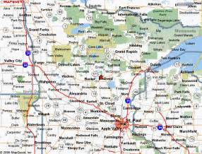 Minnesota Wisconsin Map by Mn Road Map Minnesota Campgrounds And Rv Parks Rv In