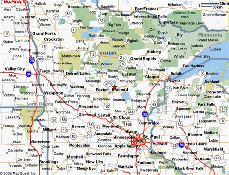 road map of minnesota usa mn road map minnesota cgrounds and rv parks rv in