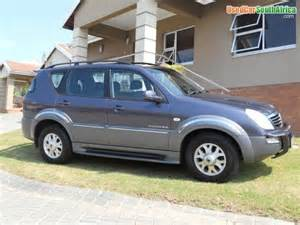 Autotrader Used Cars In South Africa Used Ssangyong Cars For Sale Auto Trader South Africa