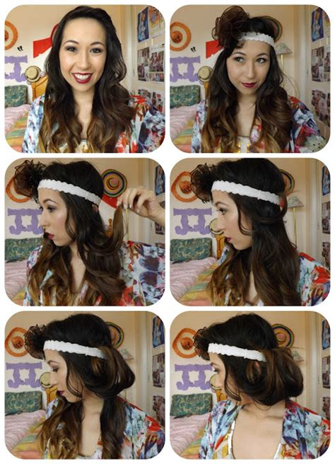 the great gatsby inspired hairstyle tutorial alldaychic great gatsby inspired 1920s makeup how to create a faux