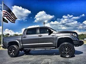 Toyota Tundra Lifted 2017 Toyota Tundra Custom Lifted Leather Crewmax 4x4