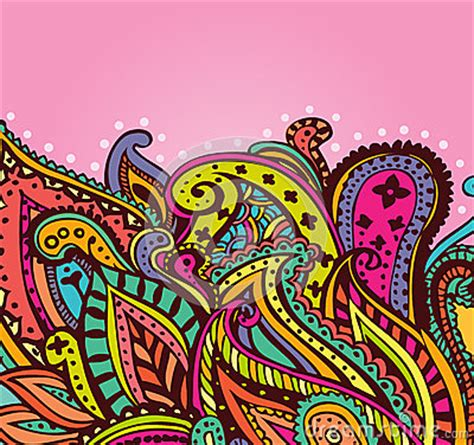 fun paisley background stock photography image