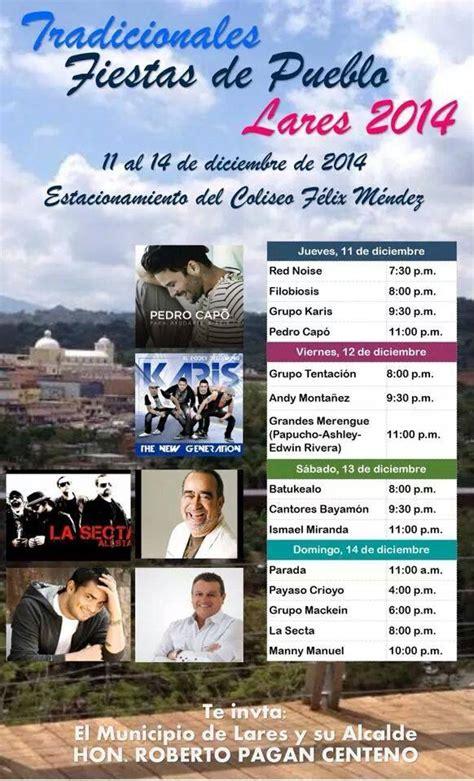 calendario de fiestas patronales y festivales en puerto rico 2016 2016 festivales y fiestas patronales en puerto rico 2017