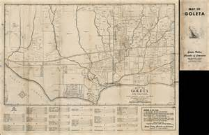 map of goleta california map of goleta and vicinity santa barbara county california