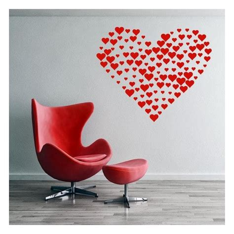wall stickers hearts wall stickers of hearts