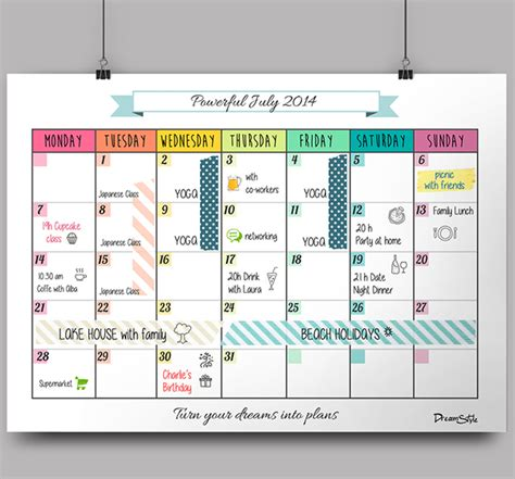 how to make a monthly calendar in pages mac calendar monthly planner free printable on behance