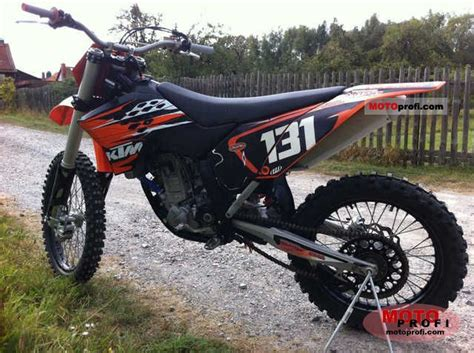 2010 Ktm 250sxf Ktm 250 Sx F 2010 Specs And Photos
