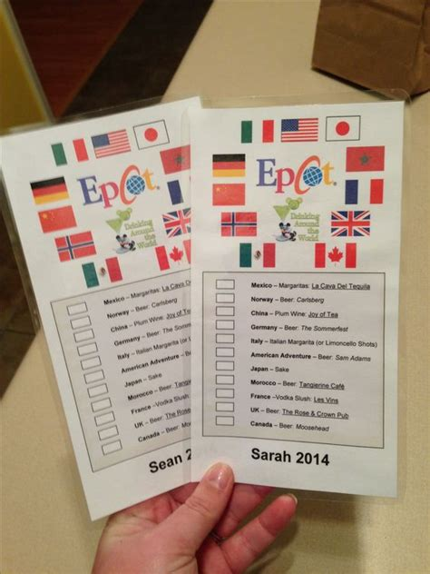 printable epcot tickets pinterest the world s catalog of ideas