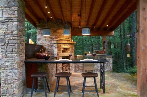 lighting for outdoor kitchen 30 outdoor kitchen designs ideas design trends