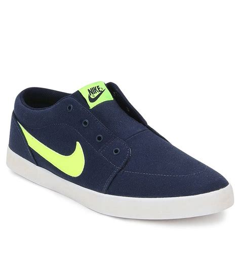 casual nike sneakers nike voleio blue casual shoes price in india buy nike