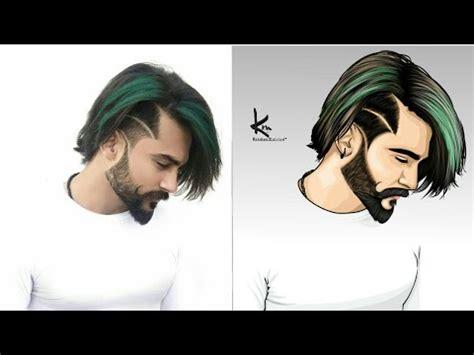 cartoon image editing  mobile  adobe photoshop