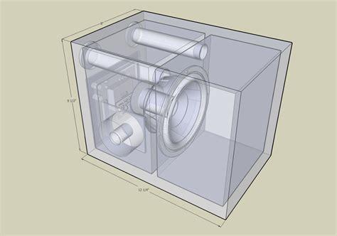 Subwoofer Cabinet Design bass cabinet plans plans woodworking