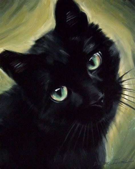 paint a cat paintings from the
