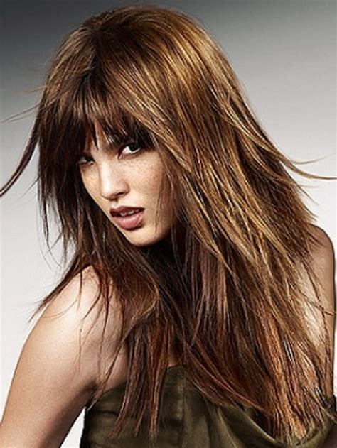 long shaggy layered hairstyles for 2013 lovely and long shag hairstyles of the year share the