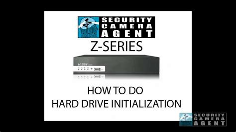 format hard disk cctv z series how to do hdd format on a h 264 dvr youtube