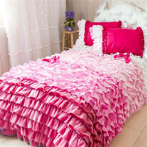ruffle bedding set