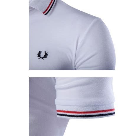 kaos polo shirt pria sleeve t shirt size l white