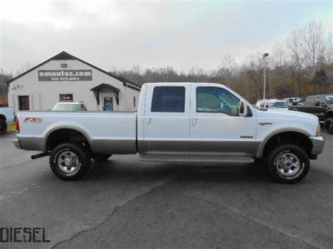 F350 Bed by Diesel Truck List For Sale 2004 Ford F350 King Ranch