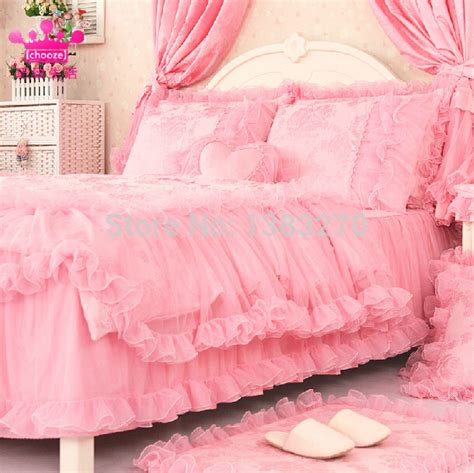 pink princess comforter sets sweet girl pink princess style warm bed set duvet cover