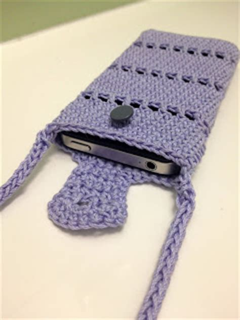 crochet pattern phone bag wild chestnuts crochet iphone pouch