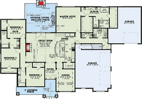 house plans with vaulted great room plan 60699nd european house plan with vaulted great room