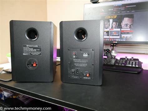 Thonet Vander Vertrag Bt Bluetooth Bookshelf Active Speaker thonet vander kurbis bluetooth speaker review tech my money