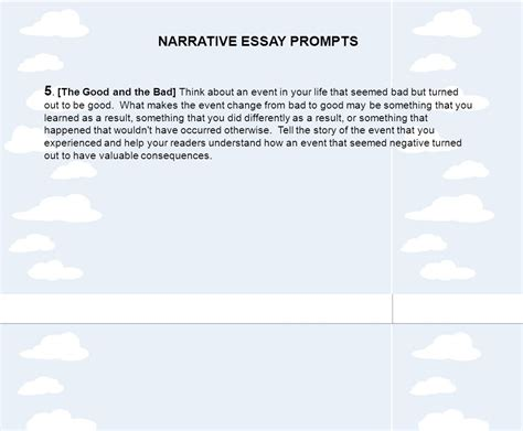 Narrative Essay Topics by Tips For Writing A Personal Narrative Ppt