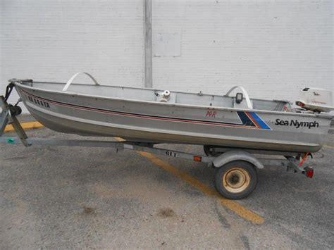 sea nymph aluminum jon boats 14 sea nymph jon boat boats for sale