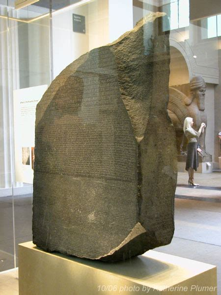 rosetta stone how long my life under the microscope oct 10 london