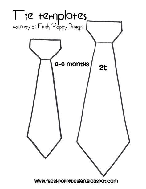 template of necktie discover and save creative ideas
