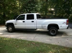 Used Chevrolet Silverado 3500 Diesel For Sale Buy Used 2002 Chevrolet 3500 Dually Diesel Truck Crew Cab