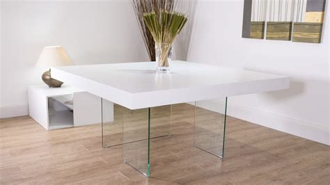 Glass Square Dining Table For 8 White Square Dining Table For 8 White Oak Dining Table