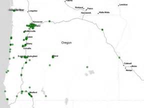map of oregon dispensaries there are more marijuana shops in oregon than starbucks
