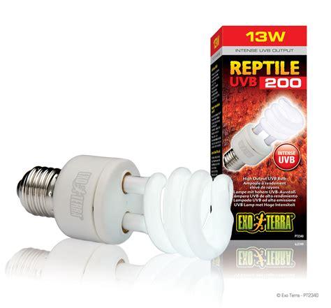 Exo Terra Reptile Uvb200 Ampoule 224 Rendement 233 Lev 233 De