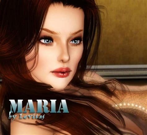 by levitas tags sim sims model sims3 female sims3 modeli maria by levitas авторские работы для sims 3 каталог
