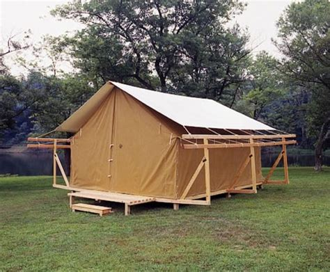 permanent tent cabins permanent c tents look at these great conversion tents they are cool www tentsngear com