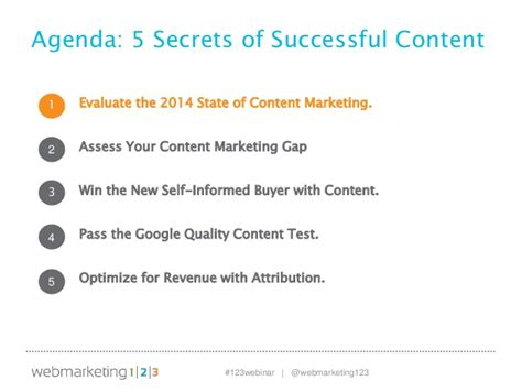 8 Advertising Tricks Of The Industry by Secrets To Brilliant Content Marketing Slides 10 29 13