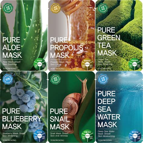Guardian Soothing Snail Mask tosowoong mask pack 10ea in a box ebay