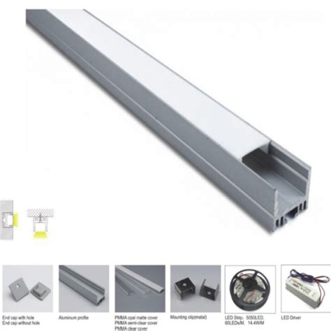 commercial lights led recessed aluminum led profile for led light