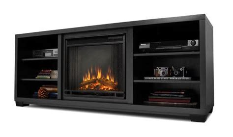black electric fireplace entertainment center electric fireplaces from portablefireplace