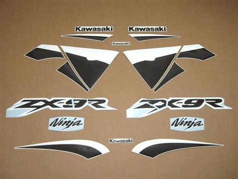 Kawasaki Zx9r Ninja Aufkleber kawasaki zx 9r ninja 2003 2002 decals set green black