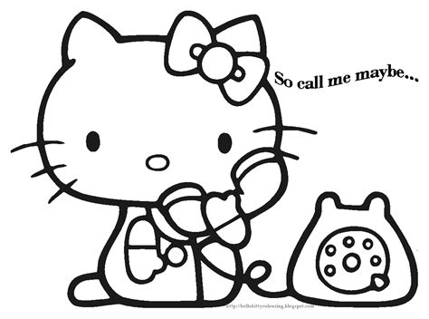 hello kitty painting coloring pages hello kitty coloring pages hello kitty colouring pages