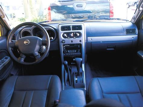 2002 nissan frontier interior 2002 truck of the year comparison four wheeler
