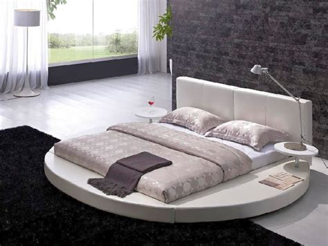 futon bedroom design ideas round beds for a more luxurious look of the bedroom