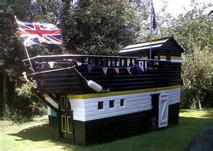 Backyard Bars For Sale by Sheds Transformed To Look Like Castles Warships And Even