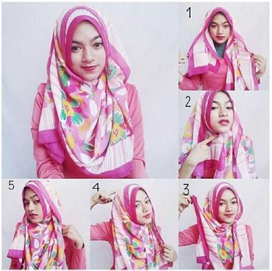 tutorial hijab ala dian pelangi terbaru 2016 contoh tutorial hijab style dian pelangi terbaru 2016