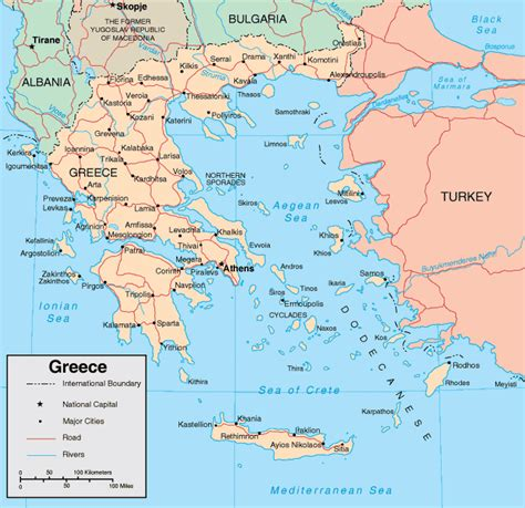 printable map of turkey and greece map of greece