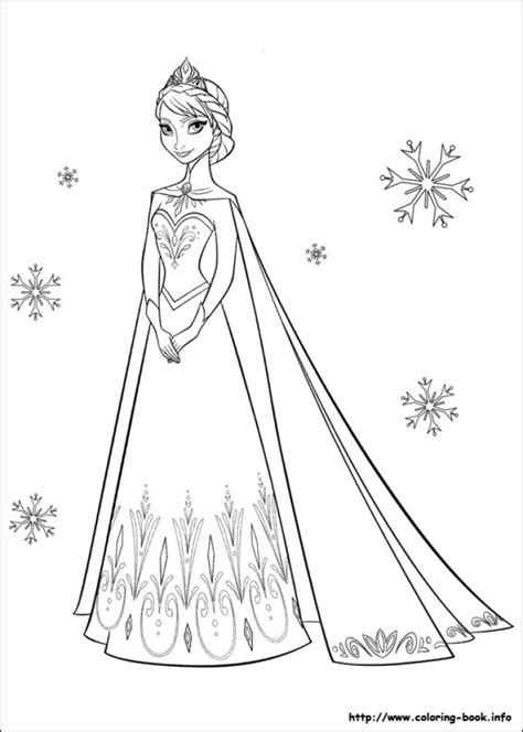 coloring pages princess elsa get this princess elsa coloring pages 17215
