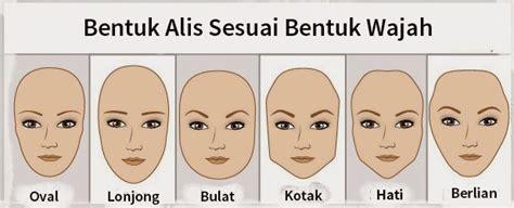 membuat alis sesuai bentuk muka cara membentuk alis sesuai bentuk wajah